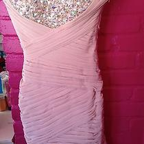 La Femme Short Dress in Blush Size 0. Brand New With Tags. Photo