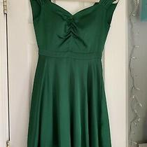 La La Land Green Dress Mia Dolan Emma Stone Photo
