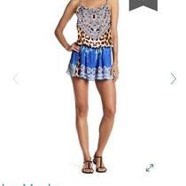 La Moda Leopard Print Jumpsuit Romper Playsuit S/m Camilla Inspired Cover Up Photo