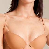 La Perla Evelina Collection 36b M Push Up Bra G-String Panty Set Nude New Photo
