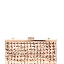 La Regale Rose Gold Stone Embellished Clutch - Brand New With Tags Photo
