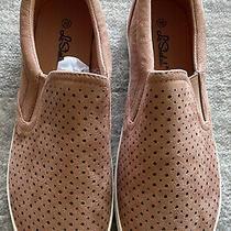 La Sheelah Womens Blush Suede Slip on Sneaker Comfort Shoes Size 10 Photo