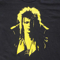 Labyrinth Goblin King T-Shirt Jareth David Bowie Shirt Tshirt Fantasy Movie Photo
