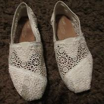 Laced Toms Size 6 Photo