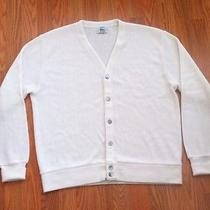 Lacost Sweater Vintage White Photo