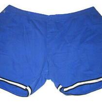 Lacoste Blue Gym Mens Sport Shorts 4xlb 4xl Big W/pockets Photo