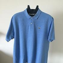 Lacoste Blue Polo Shirt Blue Size 7 Photo