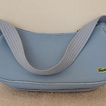 Lacoste Blue Pvc Handbag Photo