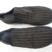 Lacoste Brown Striped Loafers Size 11.5 W/alligator Comfortable Photo