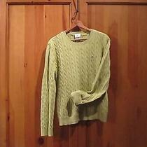 Lacoste Cable Knit Sweater Sz 46 Photo