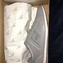 Lacoste Chaymon Mens Sneakers Grey/white Size 12 Nwt Photo