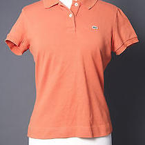 Lacoste Classic Orange Polo Photo