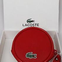 Lacoste Coin Case in Red Photo