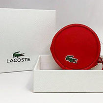 Lacoste Coin Jewelry Case Flame Scarlet Photo