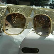 Lacoste Cream Ivory Off White Sunglasses Photo