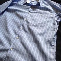 Lacoste Dress Shirt Size 42 Large  Like New Photo