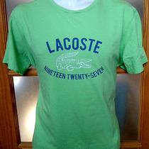 Lacoste Graphic T-Shirt Sz 5 Photo