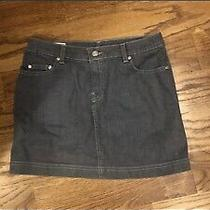 Lacoste Grey Denim Skirt Size 36 Photo