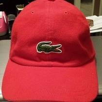 Lacoste Hat Red Photo
