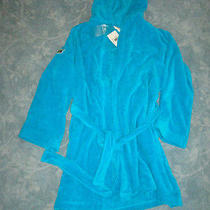 Lacoste Hooded Blue Robe Photo
