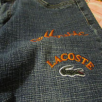 Lacoste Jeans Size 7 Photo