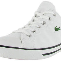 Lacoste L27 Men's Canvas Sneakers Shoes Low Top Photo