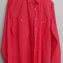 Lacoste Long Sleeved Cotton Blouse Size 38 U.s. 100% Cotton Photo