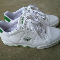 Lacoste Man's Sport Shoes 44.5 Eur 11 Usa Like New Condition  Photo