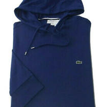 Lacoste Men's Hoodie  Sweatshirt Size 8/3xl Blue Jacket Great Christmas Gift Photo
