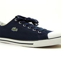 Lacoste Men's  L27 Low-Top Sneaker Navy  Size 10.5 Photo