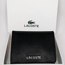 Lacoste Men's Wallet Black Photo