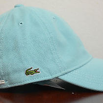 Lacoste Men Women Pique Cotton Sports Cap Hat New With Tag  Photo