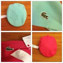 Lacoste Newsboy Style Hat Set Size Xs/s Nwt Made in France Photo
