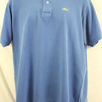Lacoste Polo Men's Size 6 Blue Nice Polo Shirt  Photo