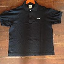 Lacoste Polo Shirt Black Mens Medium M 5 Free Shipping Photo