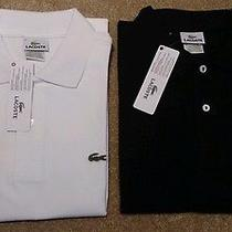 Lacoste Polo Shirt Size M Lot of 2 Polos. 180 Value  Photo