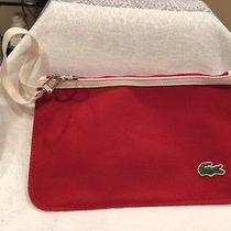 Lacoste Pouchette Red Photo