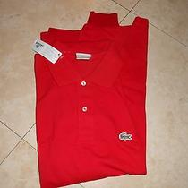 Lacoste Red Polo  Photo