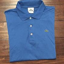 Lacoste Short Sleeve Crocodile Polo Shirt Men's Size S 4  Photo