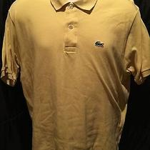 Lacoste Short Sleeve Polo6solid Yellow Photo