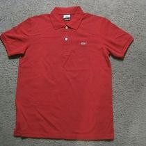 Lacoste Short Sleeve Solid Polo Photo