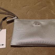 Lacoste Sliver Zip Clutch Wrstlet Photo