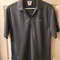 Lacoste Sport Blue Mid-Zip Sport Polo Shirt Size 3 Photo