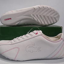 Lacoste Spun Stitch Lds Sport Low Women Shoes White 10caei051-70t Size 10 New Photo