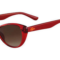 Lacoste Teen  3602 Sunglasses Red Photo