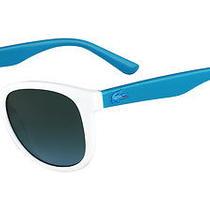 Lacoste Teen  3603 Sunglasses White Photo