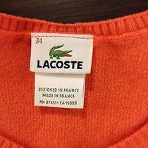Lacoste - Top - Small Orange  Photo