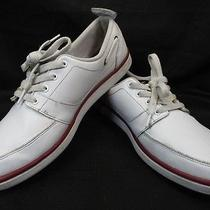 Lacoste Topa Tl Sport Casual Leather Sneakers Shoes Us Size 10.5 Mens  Photo