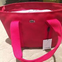 Lacoste Tote Red Photo