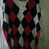 Lacoste v-Neck Sweater Size 9 or 3xl  Photo